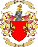 Robinson Family Crest from England2