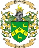 Robinson Family Crest from England