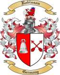 Robinson Family Crest from Germany