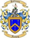 Robinson Family Crest from Norway