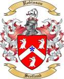 Robinson Family Crest from Scotland
