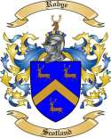 Robye Family Crest from Scotland2