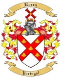 Rocca Family Crest from Portugal