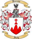 Roccato Family Crest from Italy2