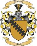 Roccato Family Crest from Italy3
