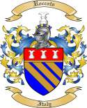 Roccato Family Crest from Italy