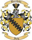 Roccchetto Family Crest from Italy2
