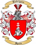 Rodriguez Family Coat of Arms from Spain2