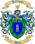 Rodriguez Family Coat of Arms from Spain