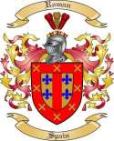 Roman Family Coat of Arms from Spain
