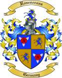 Rosencrans Family Crest from Germany