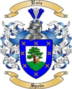 Ruiz Coat Of Arms