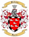 Sabata Family Coat of Arms from Spain