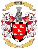 Sabater Family Coat of Arms from Spain