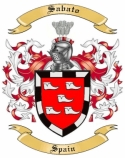 Sabato Family Crest from Spain