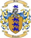 Sade Family Crest from Estonia
