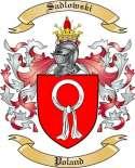 Sadlowski Family Coat of Arms from Poland