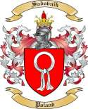 Sadovnik Family Crest from Poland