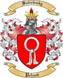 Sadowsky Family Coat of Arms from Poland