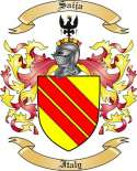 Saija Family Crest from Italy