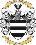 Saint Amand Family Coat of Arms from France