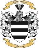 Saintamand Family Crest from France