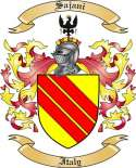 Sajani Family Crest from Italy
