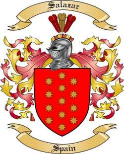 Salazar Family Coat of Arms from Spain