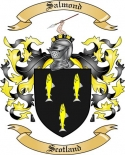 Salmond Family Crest from Scotland