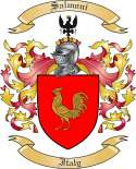 Salmoni Family Coat of Arms from Italy