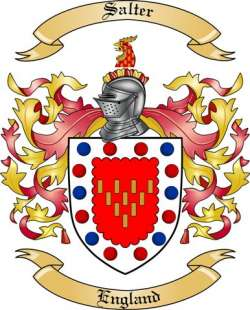 Salter Family Crest from England2