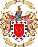 Saltire Family Coat of Arms from England2