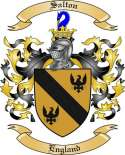 Salton Family Coat of Arms from England