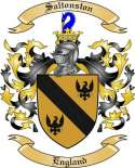 Saltonston Family Coat of Arms from England