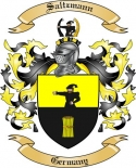 Saltzmann Family Crest from Germany