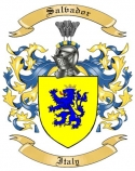 Salvador Family Coat of Arms from Italy