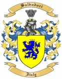 Salvadori Family Crest from Italy