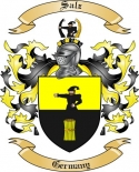 Salz Family Coat of Arms from Germany
