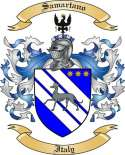 Samartano Family Crest from Italy