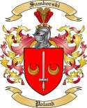 Samborski Family Coat of Arms from Poland