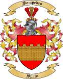 Sampedro Family Coat of Arms from Spain