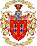 San Roman Family Coat of Arms from Spain