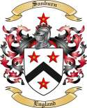 Sanburn Family Coat of Arms from England