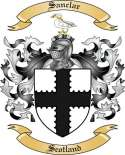 Sanclar Family Coat of Arms from Scotland