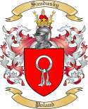 Sandusky Family Coat of Arms from Poland