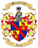 Sangricoli Family Crest from Italy