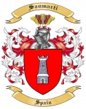Sanmarti Family Crest from Spain