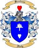 Santano Family Coat of Arms from Italy