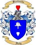Santonito Family Coat of Arms from Italy