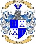 Santyago Family Crest from Spain